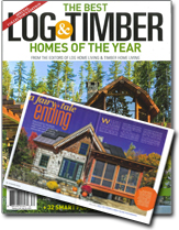 In the News | Real Log Homes | Real Log Homes