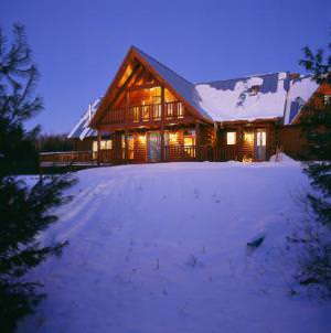 outdoor home lighting contemporary outdoor lighting for the log home real homes