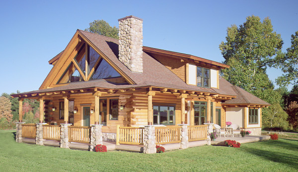 All About Dormers | Real Log Homes