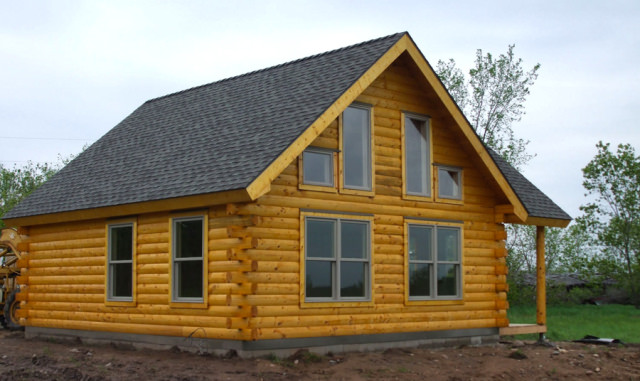 Is A Slab Or Basement Best For My Log Home Real Log Homes