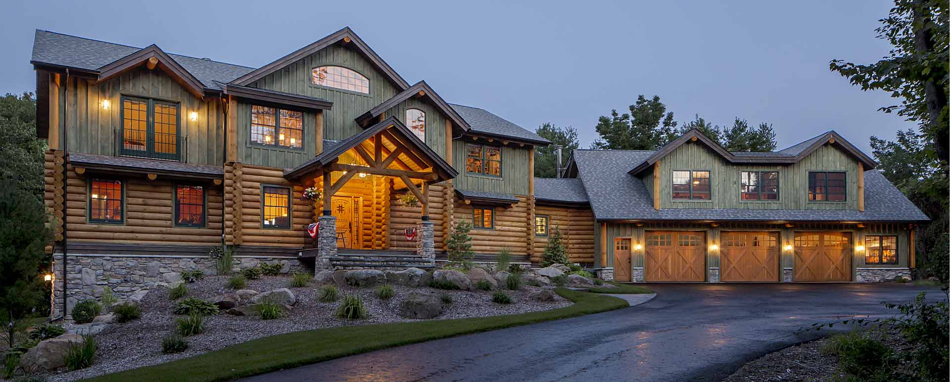 real log homes | log home plans, log cabin kits
