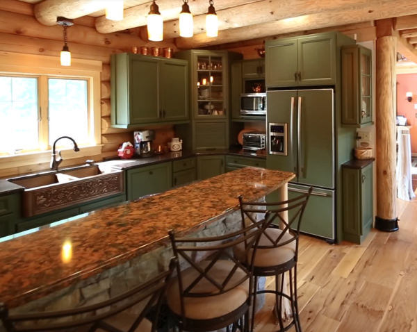 Kitchen Appliances Old and New | Real Log Homes
