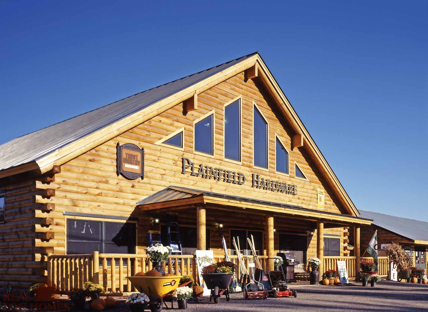Vermont real log homes log home builder vt for Home builders in vermont