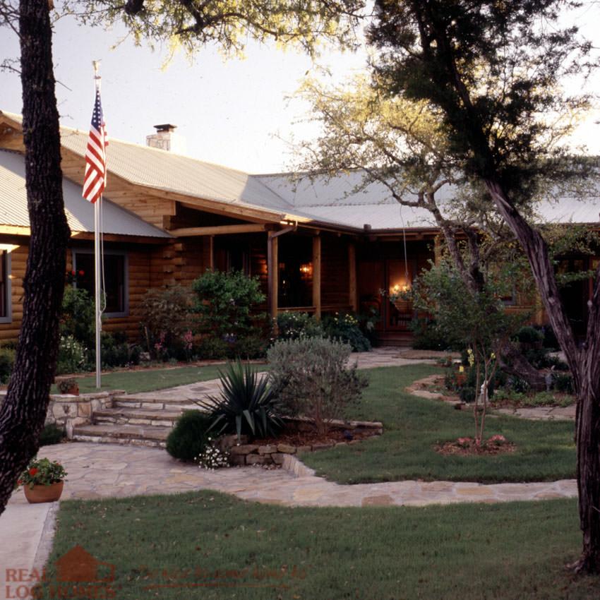 Texas Real Log Homes Log Home Builder Tx