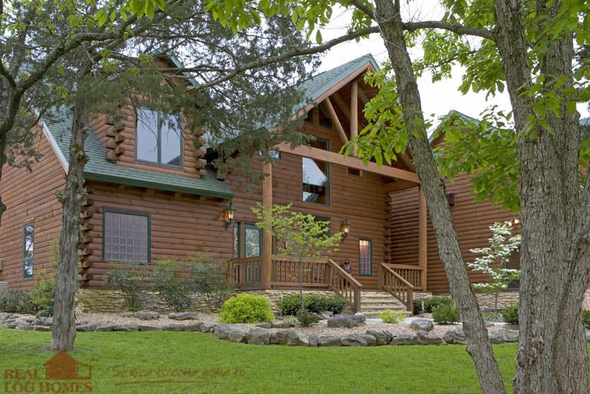 Missouri Real Log Homes Log Home Builder Mo