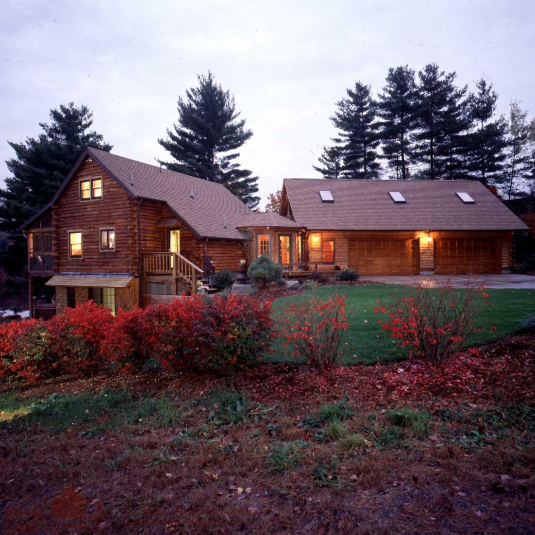 Massachusetts Real Log Homes Log Homes Ma