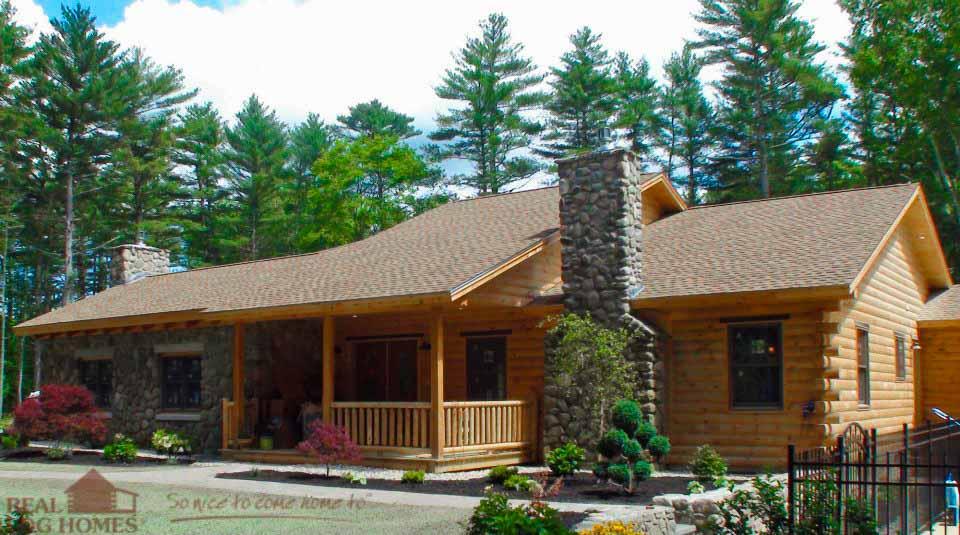 Massachusetts Real Log Homes Log Home Builder Ma