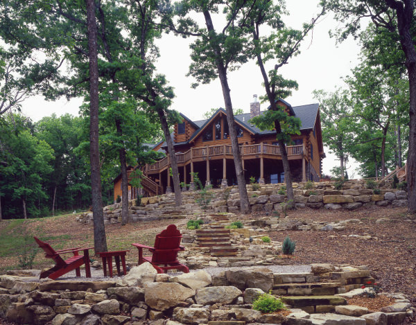 Defining Your Garden Space | Real Log Homes