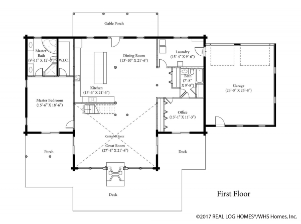Stonington Green Gables First Floor Plan