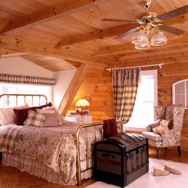 Gambrel Roof Real Log Homes