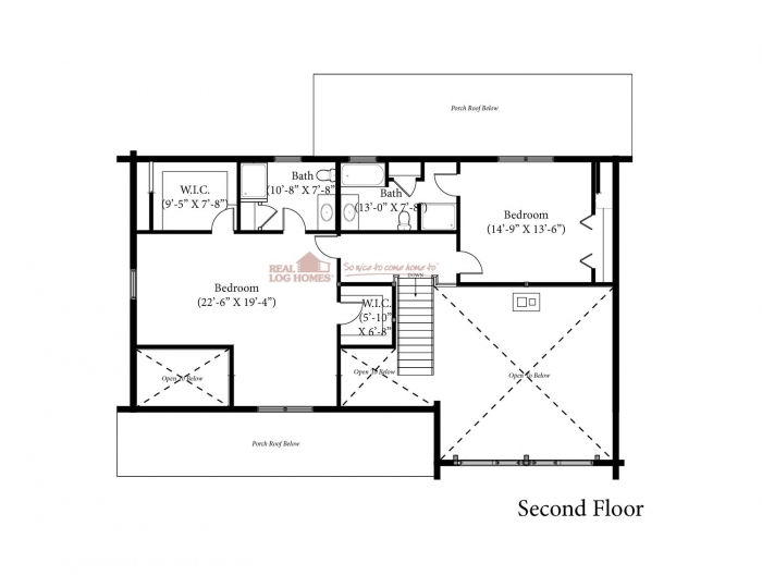 Dartmouth ma l11818 real log homes for Dartmouth floor plans