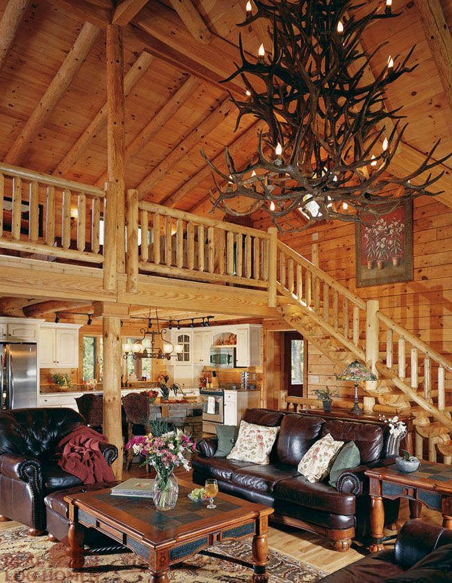 living room room shelbyville ky real log homes kentucky log home 10634