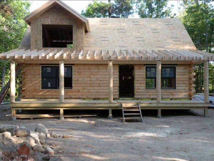 Jaffrey nh real log homes new hampshire log home Log homes in new hampshire