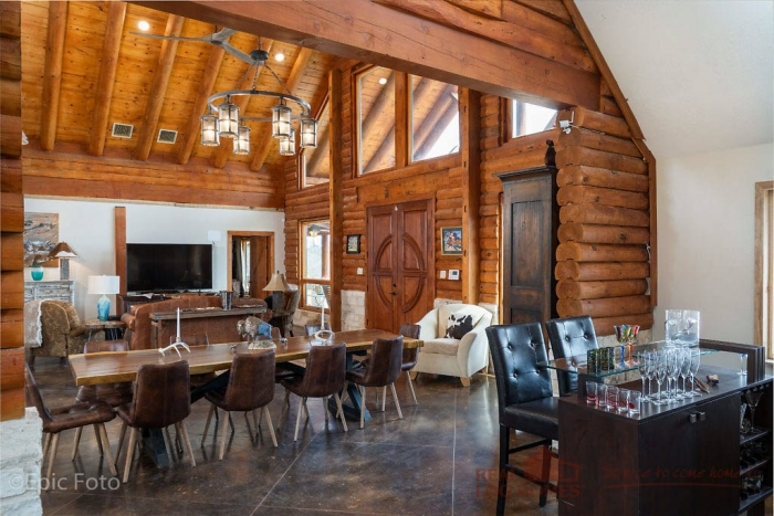 Decatur, TX Rush Creek Ranch Log Home Addition (L12667)