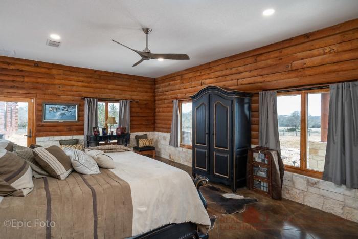 Decatur, TX Rush Creek Ranch Log Home Addition (L12667)
