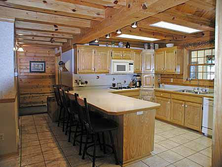 Otte Log Homes Model