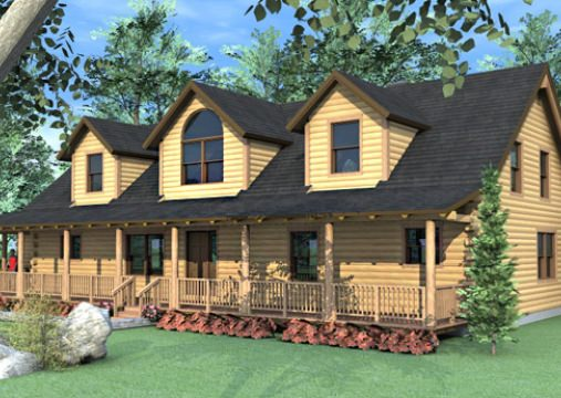 Floor plans Cabin Plans – Log Home Floor Plans With Loft