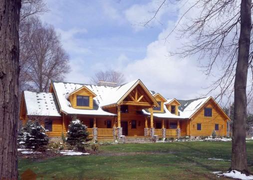 Log Homes Swedish Cope Real Log Homes