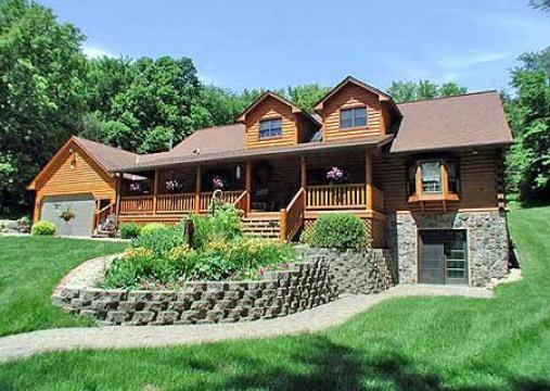 Otte Log Homes Model