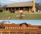 Decatur, TX Log Home Before and After Addition