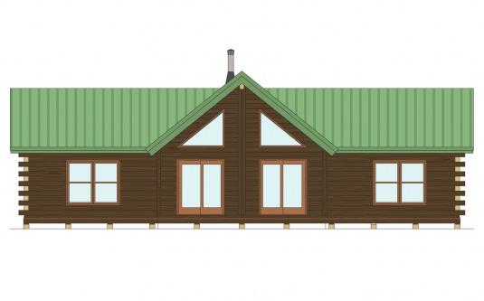 03w0069 real log homes floor plan for Real log homes floor plans