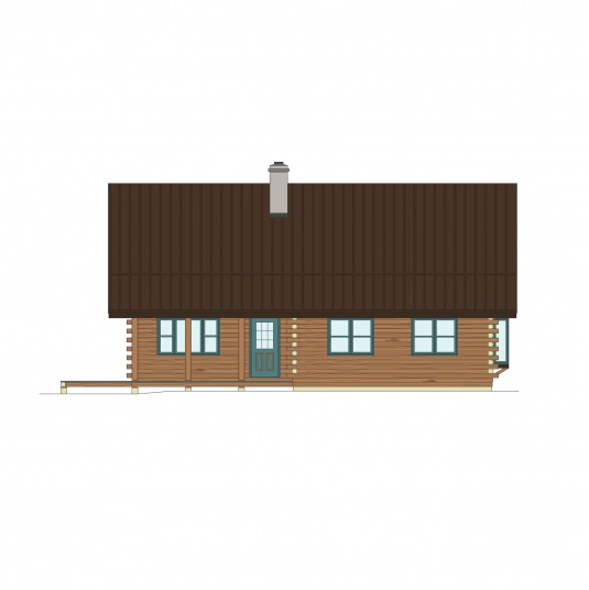 03w0116 real log homes floor plan for Real log homes floor plans