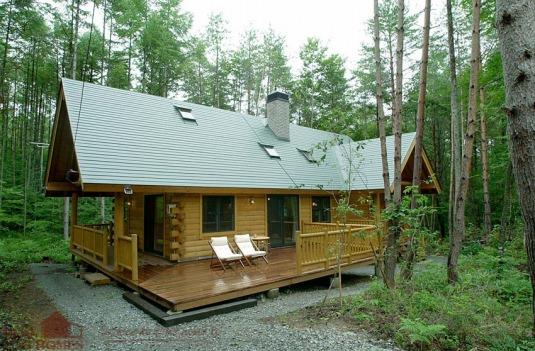 Fuma Japan Real Log Homes