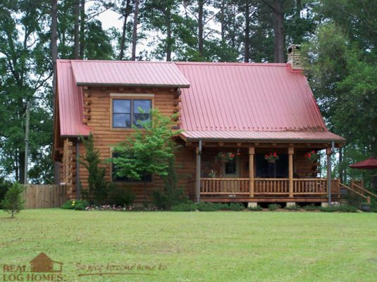 Liberty Ms L10174 Real Log Homes