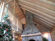 CM Allaire & Sons builds a beautiful REAL log home for David Cuttrell